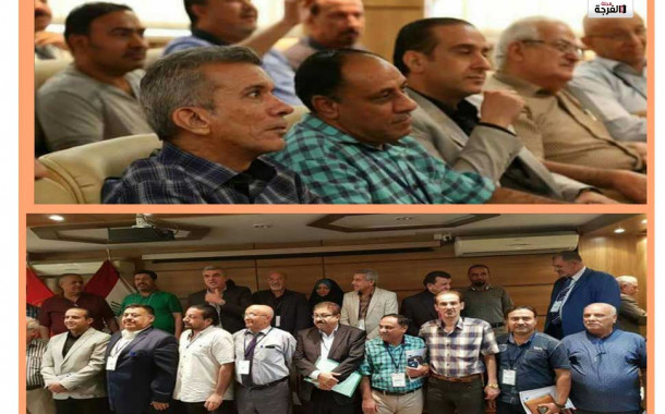 المؤتمر التأسيسي الأول لمشروع 1000كاتب لمسرح الطفل في كربلاء/ صادق مرزوق (مكتب الفرحة العراق)