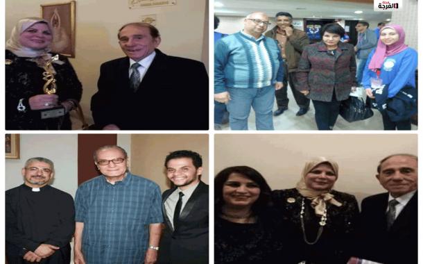 لحدينى و السلامونى وفردوس لجنة تحكيم التأليف المسرحى/ محمد جمال الدين