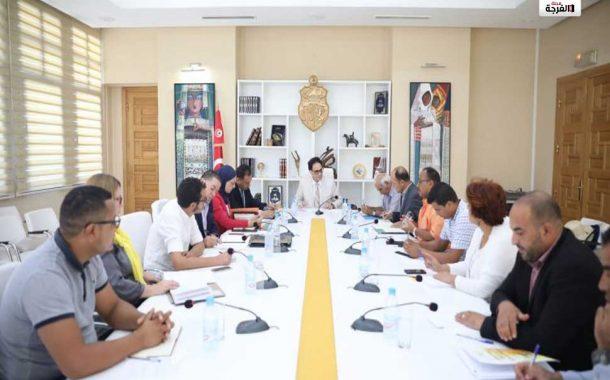 بتونس: بالصور  وزير الشؤون الثقافية يجتمع بعدد من مديري مراكز الفنون الدرامية والركحية