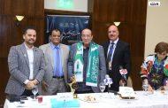 منح جلال الشرقاوي وشاح جامعة الملك عبدالعزيز ضمن فعاليات الاسكندريه للمسرح العربي/ علاء عادل