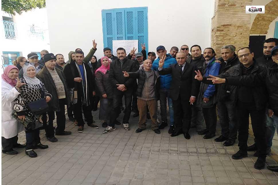بتونس: مجموعة من أعوان المسرح الوطني يحتجون على المدير العام للمؤسسة