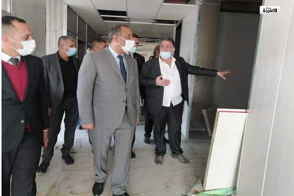 بالعراق: بالصور وزير الثقافة والسياحة والآثار يزور مسرح الرشيد/ محمد سامي