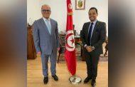 بمصر: السفير التونسي بالقاهرة يستقبل رئيس مهرجان شرم الشيخ الدولي للمسرح الشبابي